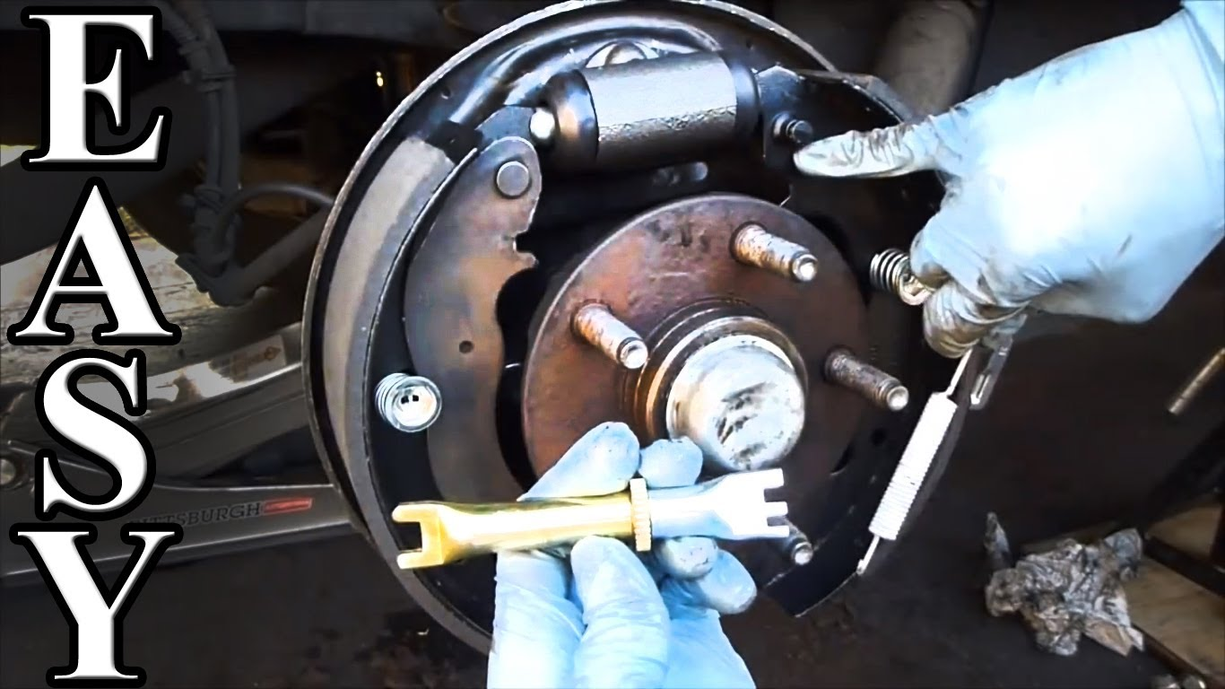 How to Change a Drum Brake shoe